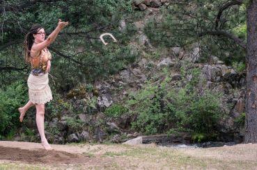 Alexandra Throwing