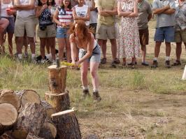 Wood Chopping Contest