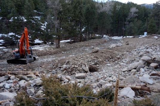 Restored James Creek